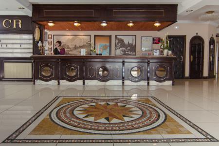 La réception Hôtel Christ Roi Lourdes