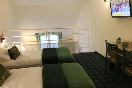 Room duplex Hotel Christ Roi Lourdes