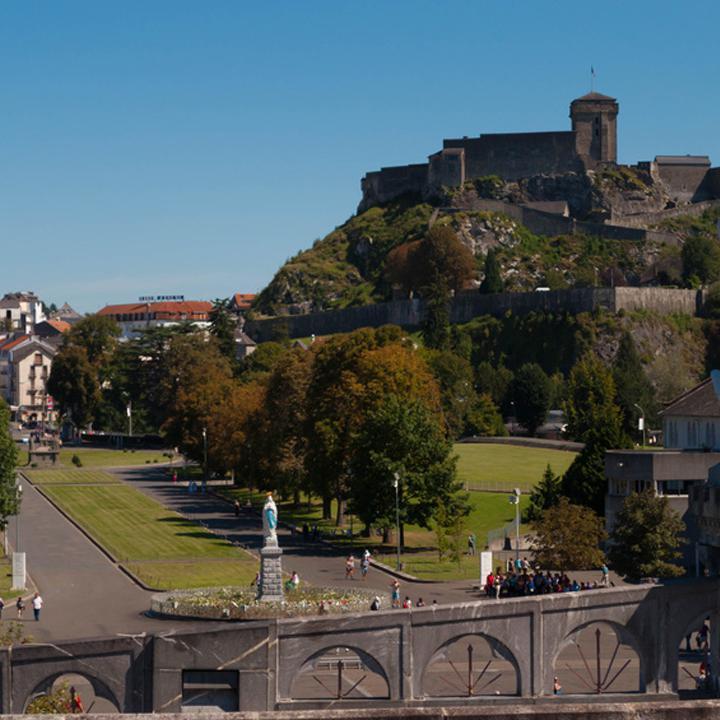 Das Schloss von Lourdes