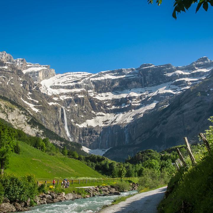 De Gavarnie en waterval