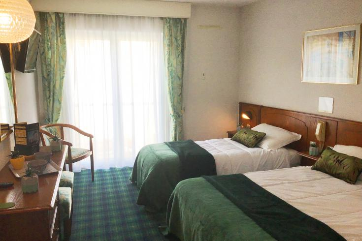 tweepersoonskamer hotel Christ Roi 4 sterren Lourdes