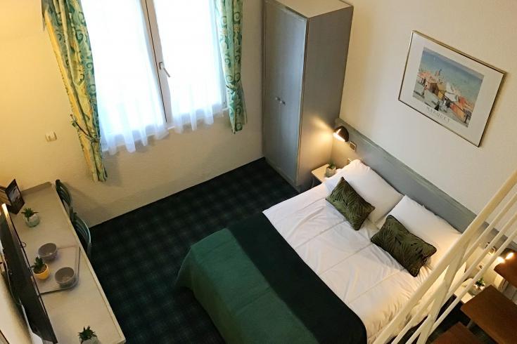 Chambre duplex Hôtel Lourdes Christ Roi 4 étoiles