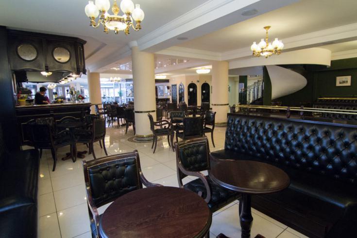 The bar Hotel Christ Roi Lourdes